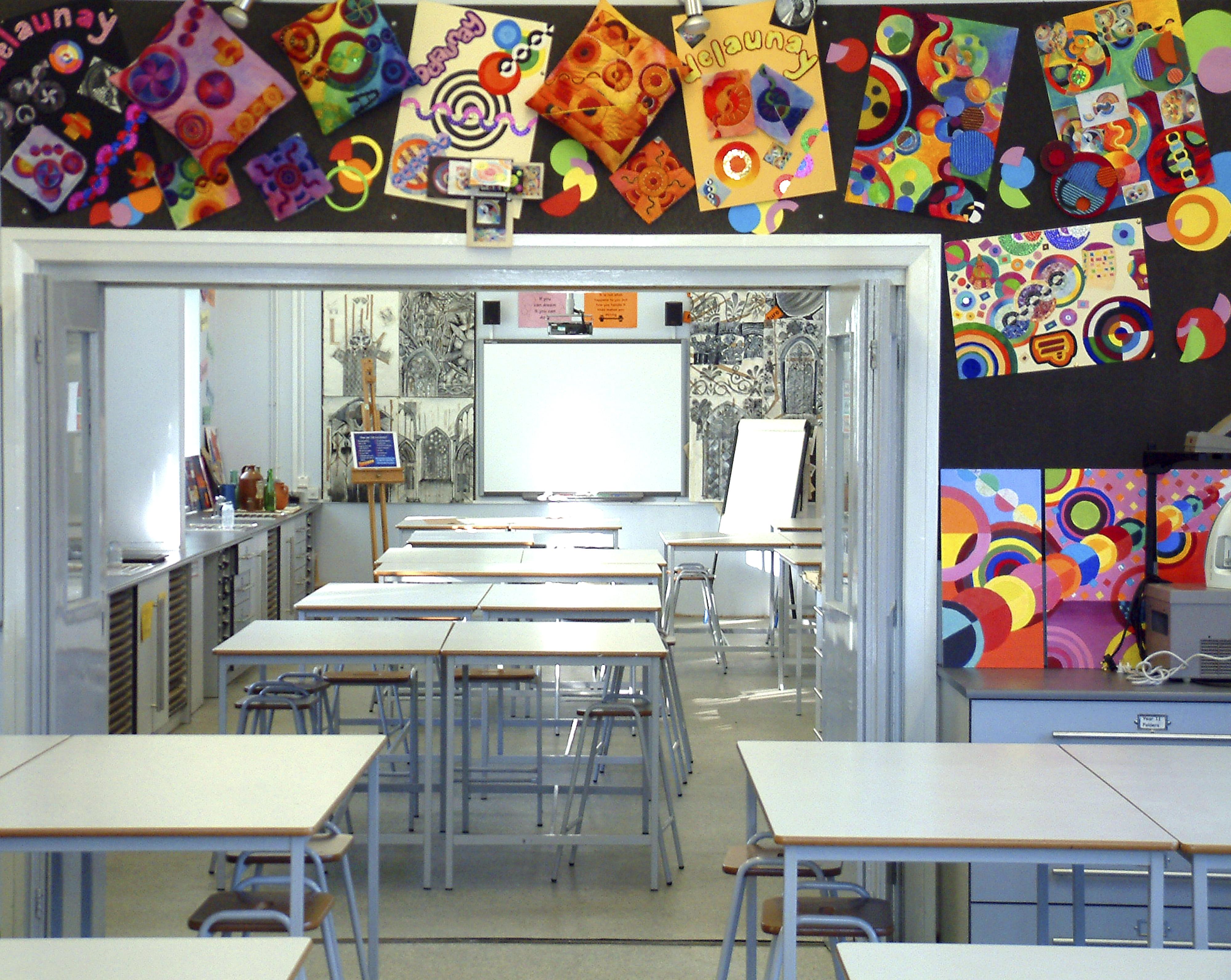 Stockport Academy classroom