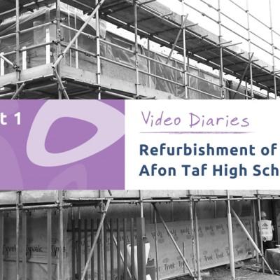 Afon Taf High School refurbishment